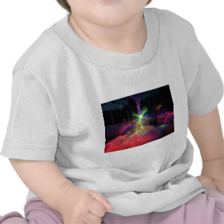 Luces laser de la espuma camiseta