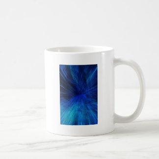 luces laser taza de café