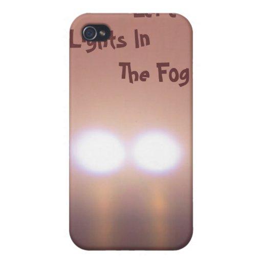 Luces misteriosas en la niebla iPhone 4 protector