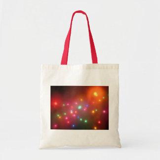 Luces nebulosas bolsa tela barata