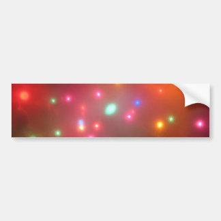 Luces nebulosas pegatina de parachoque