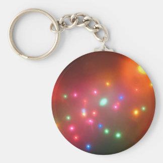 Luces nebulosas llavero redondo tipo pin