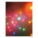 Luces nebulosas membrete