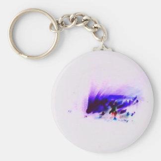 Luces púrpuras del concierto llavero redondo tipo pin