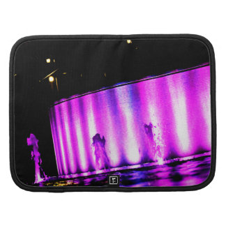 Luces púrpuras planificadores