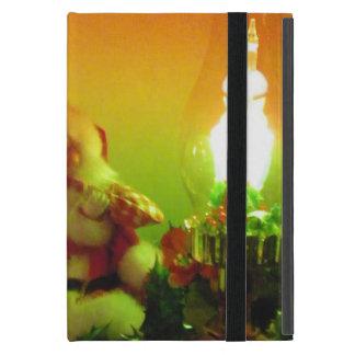 Luces retras de Santa y de la burbuja iPad Mini Protector