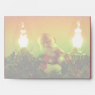 Luces retras de Santa y de la burbuja que hacen ju Sobre