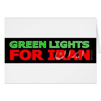 Luces verdes para Irán Tarjetón