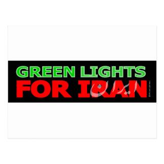 Luces verdes para Irán Postal