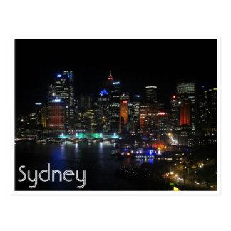 luces vivas de Sydney Postales