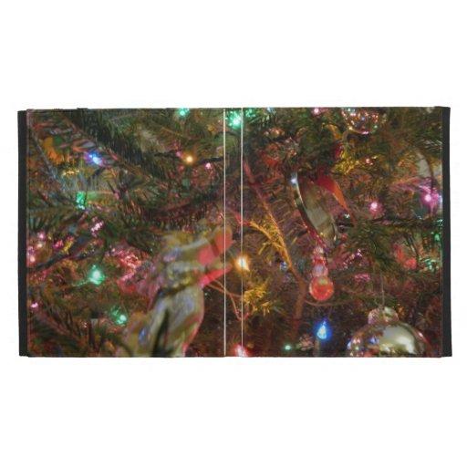 Luces y ornamentos de navidad
