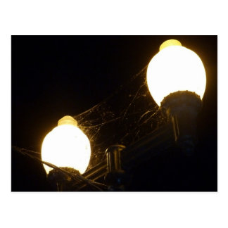 Luces y Spiderweb Postal