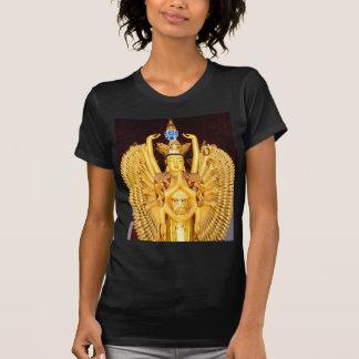 Luch and peace thousand armed avalokitasvara dharm t shirts
