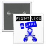 Lucha anal del cáncer como un chica pins