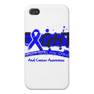 LUCHA anal del cáncer que apoya mi causa iPhone 4 Carcasa