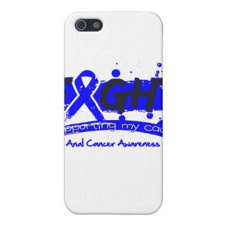LUCHA anal del cáncer que apoya mi causa iPhone 5 Protectores