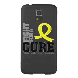 Lucha bífida de Spina para una curación Funda Para Galaxy S5
