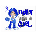 Lucha como la parálisis de un Erb del chica 42,8 Postal
