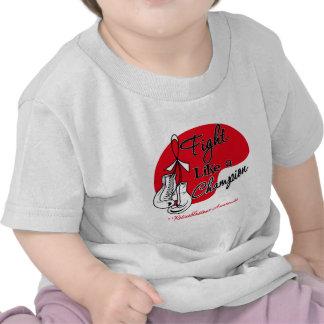 Lucha como un campeón Retinoblastoma Camiseta