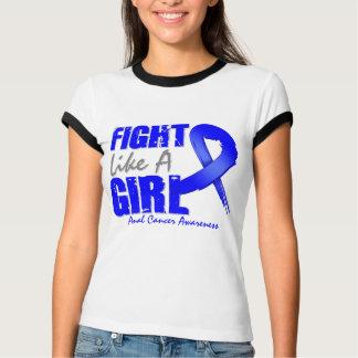 Lucha como un cáncer anal apenado chica camisas