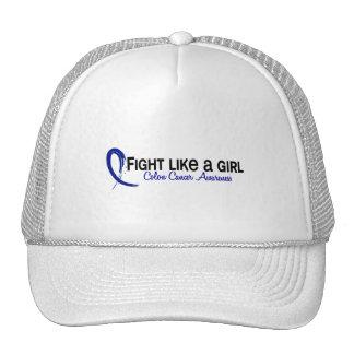 Lucha como un cáncer de colon del chica 6,3 gorros