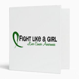 Lucha como un cáncer de hígado del chica 6,3