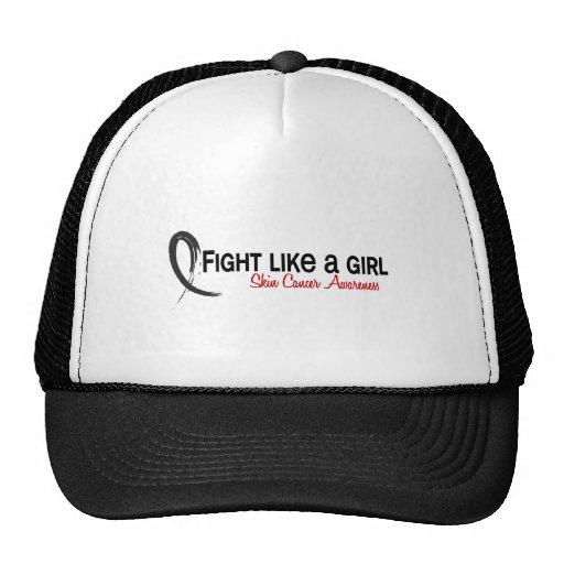 Lucha como un cáncer de piel del chica 6,3 gorras