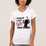 Lucha como un cáncer de pulmón del chica 26,2