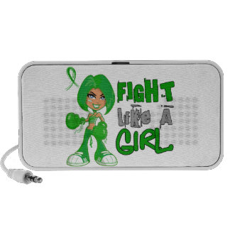 Lucha como un cáncer hepático 42 8 png del chica laptop altavoces