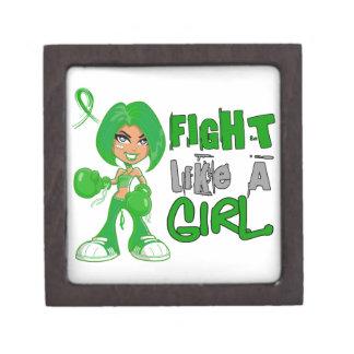 Lucha como un cáncer hepático 42 8 png del chica cajas de regalo de calidad