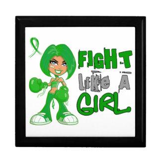 Lucha como un cáncer hepático 42 8 png del chica caja de recuerdo