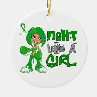 Lucha como un cáncer hepático 42 8 png del chica ornamentos para reyes magos