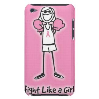 lucha como un caso del chica iPod touch Case-Mate coberturas