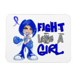 Lucha como un chica 42,8 ARDS Imanes Rectangulares
