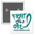 Lucha como un chica 5,3 PCOS Pins