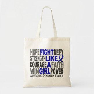 Lucha como un chica Ankylosing Spondylitis 23 4 Bolsa