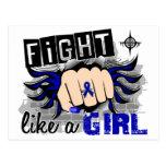 Lucha como un chica Ankylosing Spondylitis 27,8 Postal