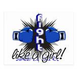 Lucha como un chica Ankylosing Spondylitis 32,8 Tarjetas Postales
