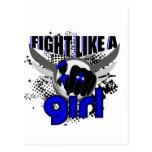 Lucha como un chica Ankylosing Spondylitis 33,8 Postal