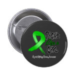 Lucha como un chica - apenado - cáncer del riñón pins