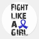 Lucha como un chica CFS 21,8 Etiquetas