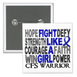 Lucha como un chica CFS 23,4 Pins