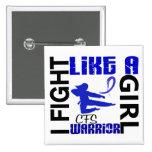 Lucha como un chica CFS 3,2 Pin