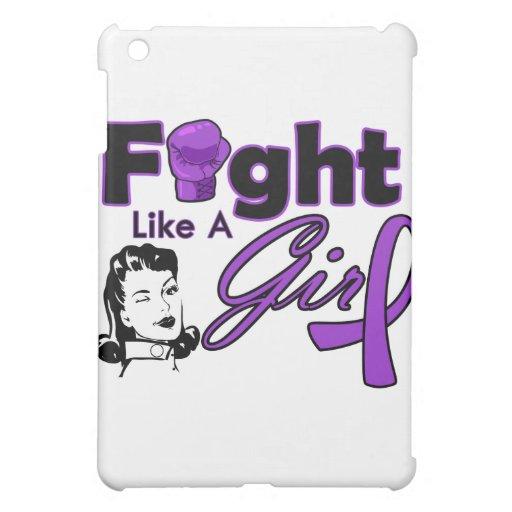 Lucha como un chica - chica retro de la sarcoidosi