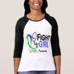 Lucha como un chica EDS 10,1 Camiseta