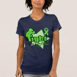 Lucha como un chica - linfoma Non-Hodgkin Camiseta