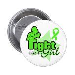 Lucha como un chica - linfoma Non-Hodgkin Pins