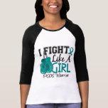 Lucha como un chica PCOS 15,2 Camiseta