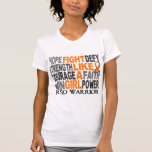Lucha como un chica RSD 23,4 Camiseta