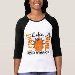 Lucha como un chica RSD 8,2 Camiseta
